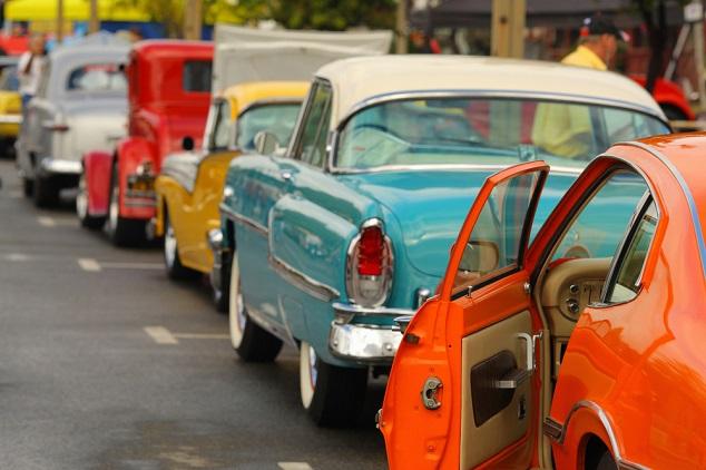Vintage amerikaanse automerken