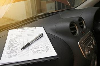 Auto taxeren met checklist