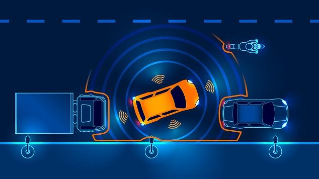 autonoom rijden sensoren