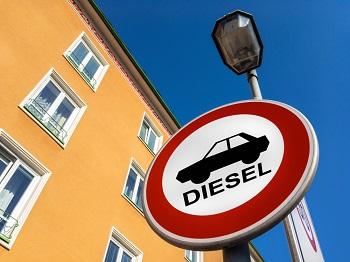 Diesel auto verbod