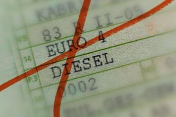 Rode streep door euro 4 diesel