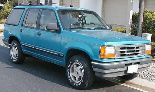 Firestone klapbanden en de Ford Explorer