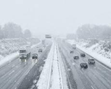 sneeuw-snelweg